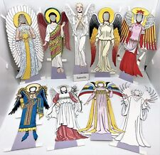 "Medieval Angel 9"" Paper Doll + 7 Outfits Mint/Factory Sealed Shackman"