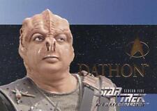 Star Trek TNG The Next Generation Season 5 Character card S28 NM/M condition