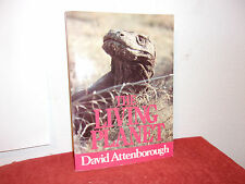 The Living Planet : A Portrait of the Earth by David Attenborough PAPERBACK