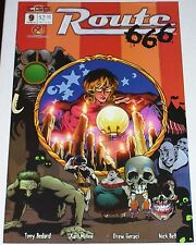 Route 666 #9 from March 2003 VF- to VF+