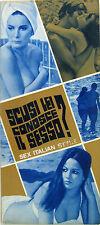 SCUSI LEI CONOSCE IL SESSO? brochure 1968 Vittorio De Sisti Mirella Pamphili