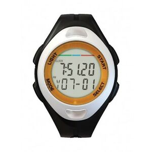 Sports Wrist Stopwatch Pulse JS-712A + Pedometer