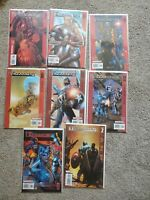 The Ultimates  Lot #7-12 + Annual 1 & 2 2002 Marvel Comics