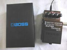 Boss OC-3 Super Oktave Bodeneffektgerät