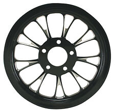 """Ultima Black Cut Manhattan Pulley 1-1/2"""" Wide, 70 Tooth 99'- Earlier & 00-Later"""
