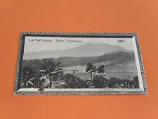 CHROMO PHOTO CHOCOLAT SUCHARD 1930 COLONIES MARTINIQUE ANTILLES