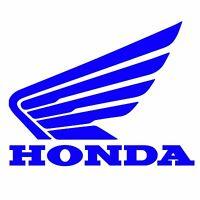 HONDA WINGS Window Vinyl Decal Sticker Emblem Logo Graphic Racing Sport