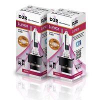 2 x D2R XENON 8000K HID BULB Genuine LUNEX compatible with 85126 66050 66250