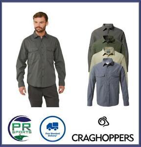 Brand New 2021 Craghoppers Mens Kiwi NosiLife Long Sleeve Shirt
