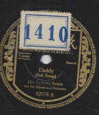 Andrew Sisters  mit Orchester Vic Schoen : Daddy  + Carioca