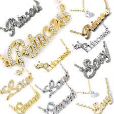 Modeschmuck-Halsketten & -Anhänger aus Messing mit Zirkonia-Hauptstein für Damen