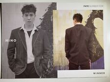 Official Postcard Mino Winner Fate Number For Album