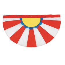 CIRCUS CARNIVAL Big Top Tent Hanging Decoration Porch Balcony Fence BUNTING