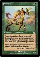 GENESIS Judgment MTG Green Creature — Incarnation RARE