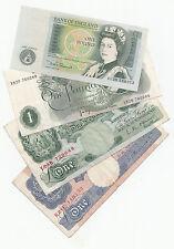 Nota de una libra £ 1 de 1928 a 1981-elija su cajero
