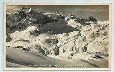 Stuben  Arlberg - Wildgrubenspitzen u. Madlochjoch v.d. Trittalm - gel. 1927