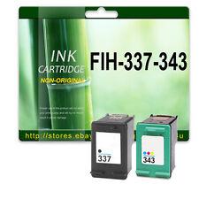 2 Reman NON-OEM Ink Cartridges For FIH-337-343 C9364EE C8766EE