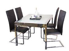 """Esszimmertisch """"Ausziehbar 120-240 cm"""" Esstisch Glastisch Küchentisch Tisch"""