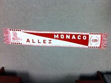 Vintage A.S. ALLEZ Monaco French Soccer Football League Scarf - NEW!!