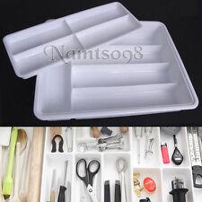 Cutlery Utensil Flatware Organizer Storage Drawer Tray/Kitchen Office/Plastic