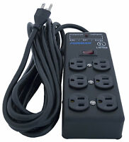 Furman SS-6B Pro Plug 6 Outlet AC Surge Power Strip Conditioning