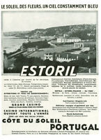 Publicité ancienne Estoril Portugal 1931 issue de magazine