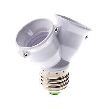 E27 1-2 E27 LED lampadina convertitore adattatore sdoppiatore Presa Base S3Y4