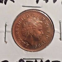 CIRCULATED 1999 2 PENCE UK COIN (100616)1
