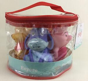 Disney Baby Winnie The Pooh Squirt Toys 5 Pack Squirters Rabbit Tigger Eeyore