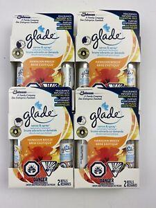 8 Glade Sense & Spray Automatic Freshener Refill Hawaiian Breeze 4 Twin Pack