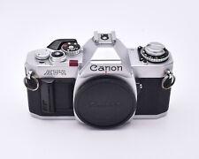 Canon Av-1 Silver 35mm Slr Film Camera Body Only Read (#5953)