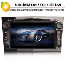 DAB Player Autoradio DVD GPS Navi Android 8.0 OBD DVB-T2 für Opel Tigra TwinTop