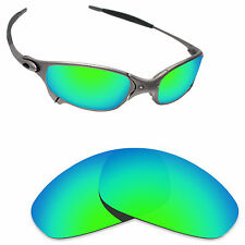 Hawkry Polarized Replacement Lenses for-Oakley Juliet Sunglass Emerald Green
