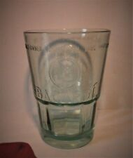 BACARDI MOJITO GLASSES X 1  WITH THE EMBOSSED BAT LOGO 35 CL