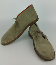 Polo Ralph Lauren Mens 13 Chukka Ankle Boots Tan Suede Crepe Sole Loden Shoes