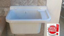 Pilozza pilozzo a muro in resina lavabo lavandino esterno con sifone e fissaggi