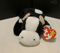 Vintage Ty Beanie Baby- Daisy The Cow 1993 With Tag