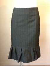Cue Wool Solid Skirts for Women