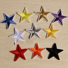 5pcs Star Embroidered Iron on Patch Sew Applique Bags Clothing DIY Craft 4.2cm