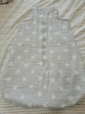 Aden + Anais Winter Sleeping Bag Size L shrink to size M after wash