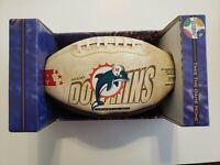 MIAMI DOLPHINS- NFL FOTOBALL Souvenir Football Vintage Limited Edition 25,000