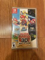 Super Mario 3D All-Stars Nintendo Switch Brand New!! Plastic Ripped But Not Used