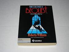 The Colonel's Bequest: A Laura Bow Mystery (Amiga, 1989) Rare Roberta Williams