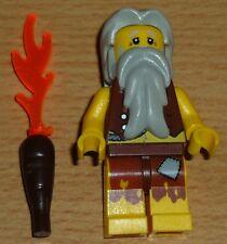 Lego Piraten 1 Höhlenmensch mit Fackel