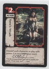 1998 Xena Warrior Princess Collectible Card Game #142 Xena's Wrath Gaming 0a1