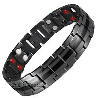 Magnetic Bracelet 4in1 Bio Energy Strong Gauss Magnets Arthritis Healing Jewelry