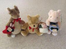 GUND Winnie the Pooh, Piglet & Kanga Plush Christmas Set - NWT