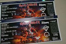 2x IRON MAIDEN Ticket STUTTGART Mercedes-Benz Arena 18.07.2020 Haupttribüne