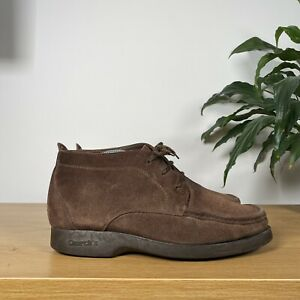 Mens CHURCHS MONZA Suede Ankle Boot Wedding Smart Shoes - Brown - UK7.5 F