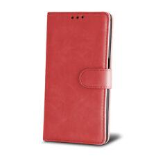 % Leder-Imitat Klapp Tasche HÜLLE Book Cover ver. Handys Sony Nokia Wiko Apple